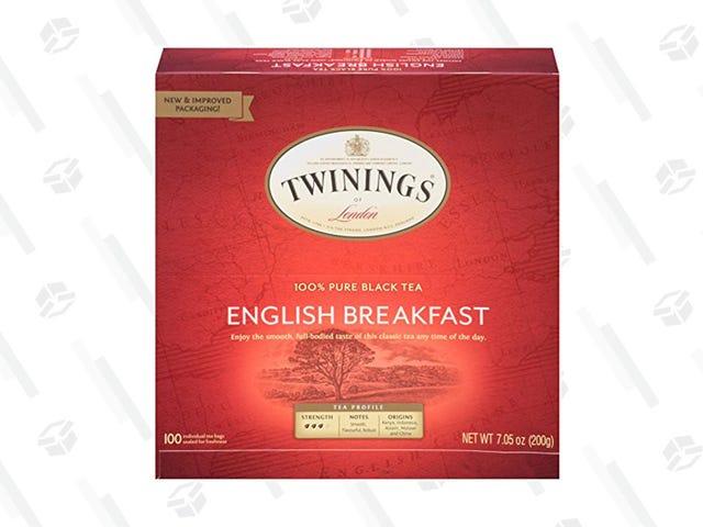 Twinings English Breakfast Tea Is Only $9