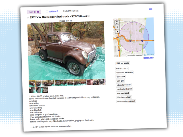 The Antidote to Oversized, Angry Pickup Trucks Is on Craigslist and It's Tiny and Very Weird