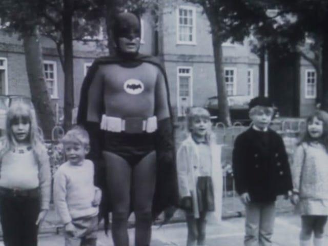 Перейдіть дорогу дорогою Бетмена
