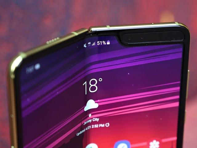 Samsung Galaxy Fold för att lansera i Korea den 6 september, inget officiellt USA-utgivningsdatum ännu