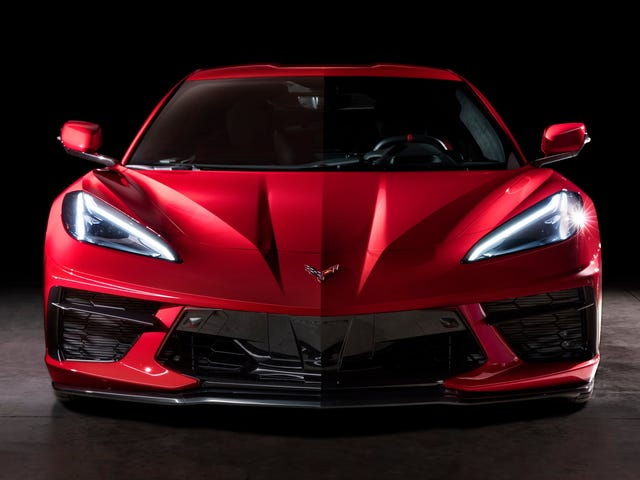 The 2020 Chevrolet C8 Corvette Has Visibility Visibility Poor: Data