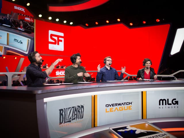 The Overwatch League Hosts Clearly Need Our Fashion Advice