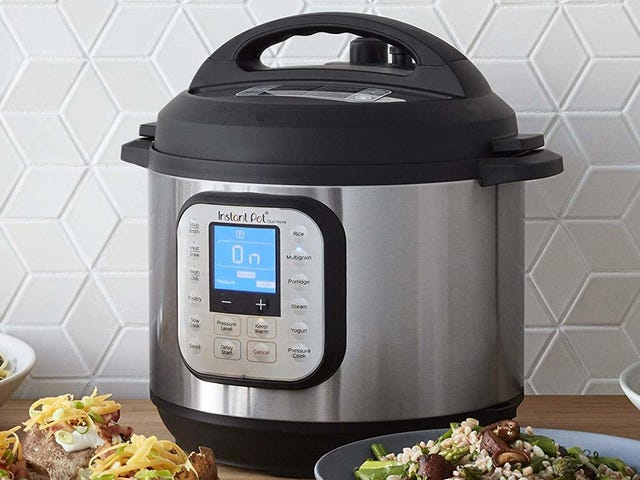 Get the Brand New Instant Pot For $65, Just In Time For Thanksgiving