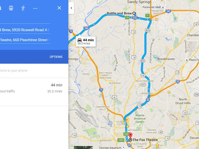 Google Maps Adds Multiple Destination Directions, Timeline Notes to Android