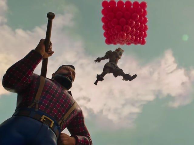 Nå, nu skickar de skrämmande röda ballonger genom posten