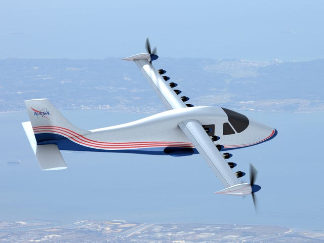 The New NASA X-Plane Will Be Fully Electric
