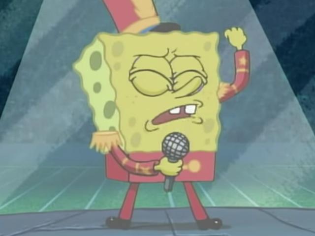 "Orang-orang mahu <i>SpongeBob</i> ""Sweet Victory"" dimainkan di Super Bowl dan Maroon 5 mungkin hanya memberikannya kepada mereka"
