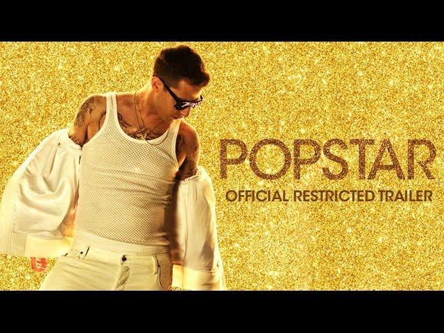 Ja, det er to Adam Levine hologrammer, der hopper i traileren til Lonely Island's Pop Star