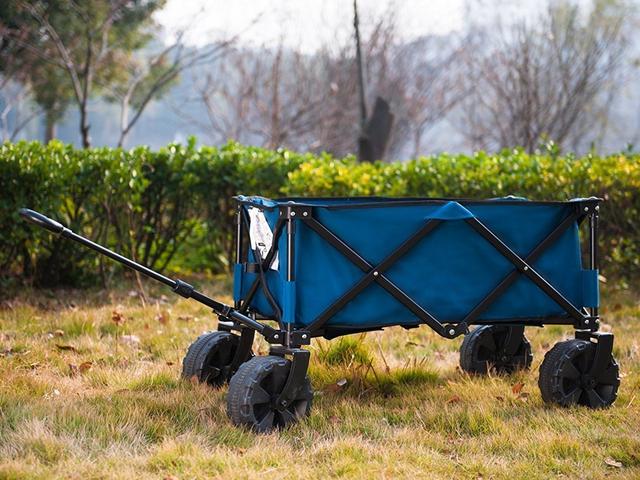 この折り畳み式ユーティリティワゴンでプロのようにビーチや庭を打つ