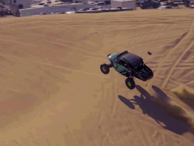 Questo bellissimo film di dune sembra la festa più felice
