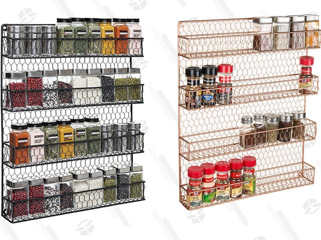 Це 4-ярусна стійка Spice дає вашій маленькій кухні простір це відчайдушно потребує