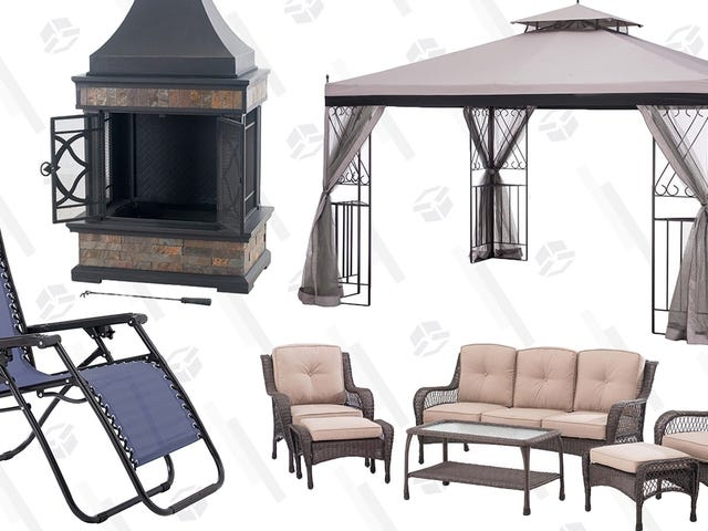 Refresh Your Patio With This One-Day Furniture Sale