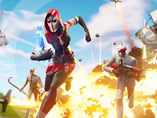 Fornite's New Getaway Mode Is A Fast-Paced Comedy Of Errors