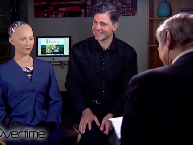 Charlie Rose Flirting With a Creepy Robot Is Worse Than It Sounds