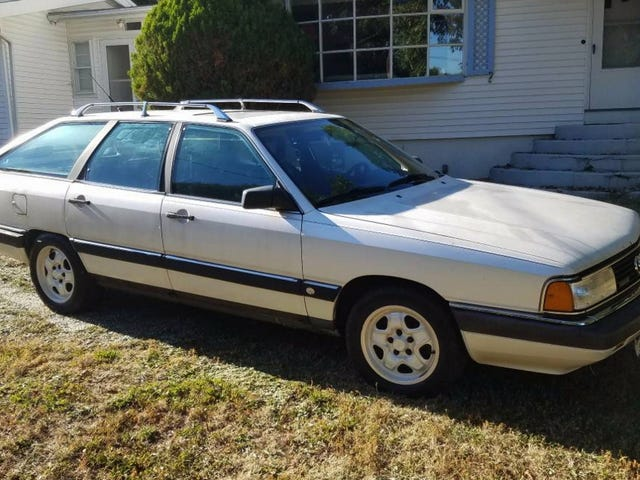 At $3,000, Is This 1987 Audi 5000CS Turbo Quattro Avant Pretty Rad?
