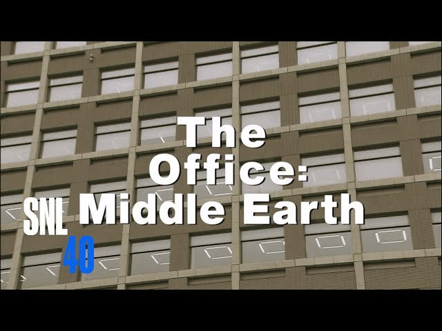 SNL Brings You A Perfect Mashup of Lord of the Rings and The Office