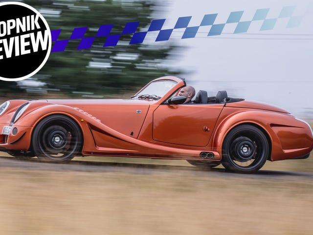 A Morgan Aero GT to maszyna do grania V8 dla superużynek z kreskówek