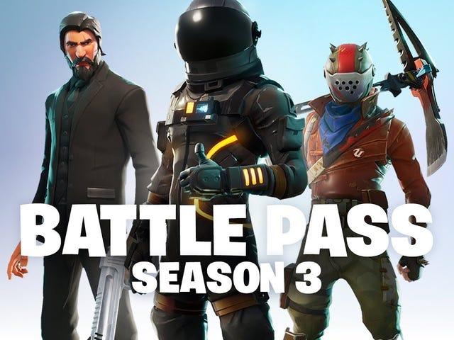 La gran actualización de Fortnite Battle Royale de la temporada 3 está aquí, junto con más y mejores recompensas para Battle