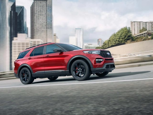 To put into perspective how expensive the 2020 Explorer ST is..