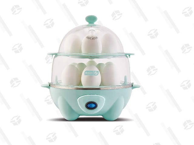 Deluxe Rapid Egg Cooker adalah Item Ideal Untuk Lazy Chef