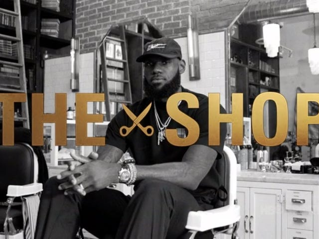 There's Nothing Candid About LeBron's The Shop