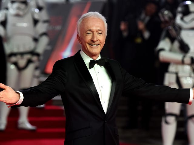 Anthony Daniels is teasing something on Twitter, and it's not as cute as he thinks it is