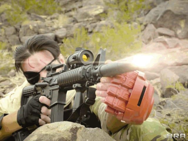 <i>Metal Gear Solid: The Phantom Pain</i> ya heeft parodia porno, y sus efectos especiales son toda una proeza