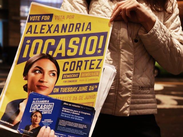 Scenes From Alexandria Ocasio-Cortez's District on Election Night