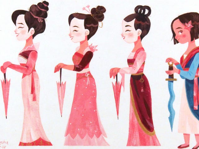 Vier het 20-jarig jubileum van <i>Mulan</i> With This Beautiful Art Show