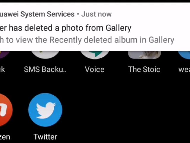 Huawei está eliminando fotos descargadas de Twitter en los teléfonos de algunos usuarios