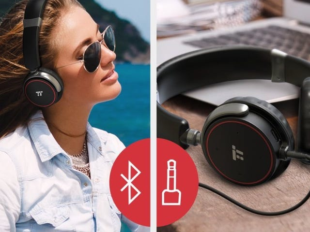 These Bluetooth Headphones Pack a 25 Hour Battery For Just $20