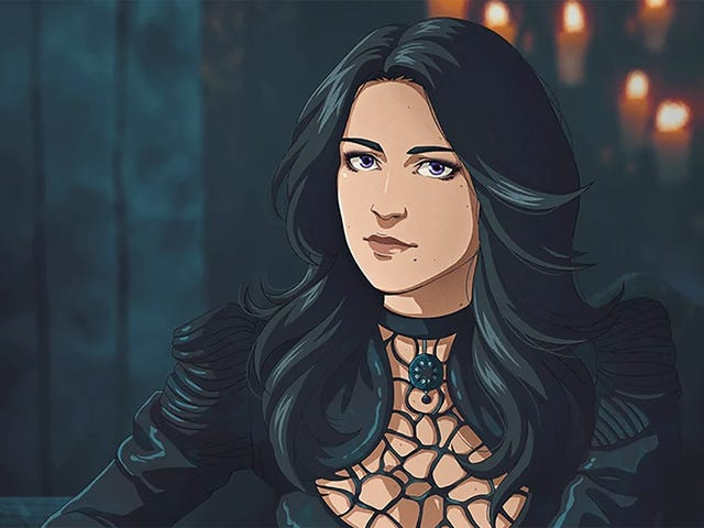 If The Witcher Was An Anime