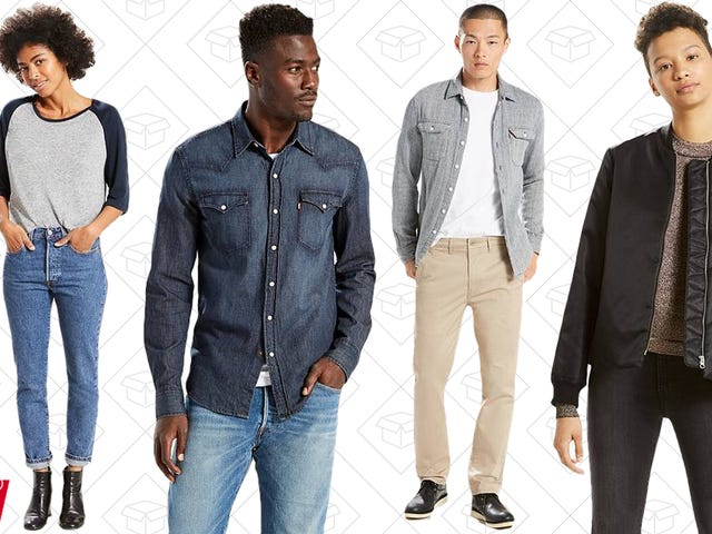 Levi's Is Having Their Biggest Sale in a While