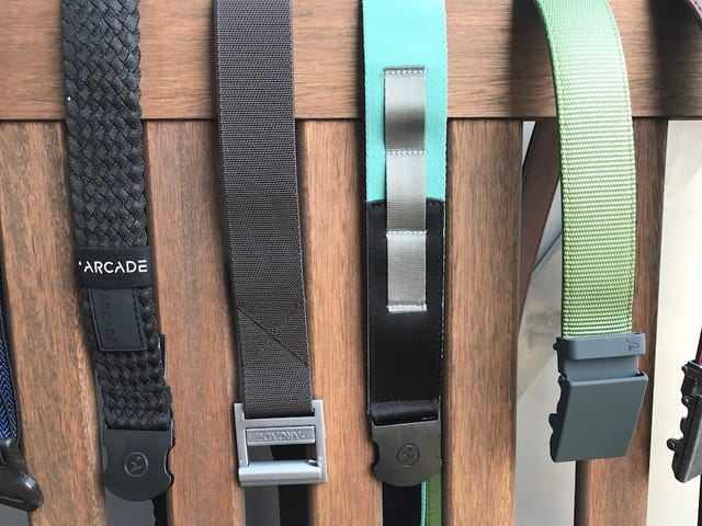 For When You Want to Keep Your Pants on in the Woods: Arcade Belts [Updated]