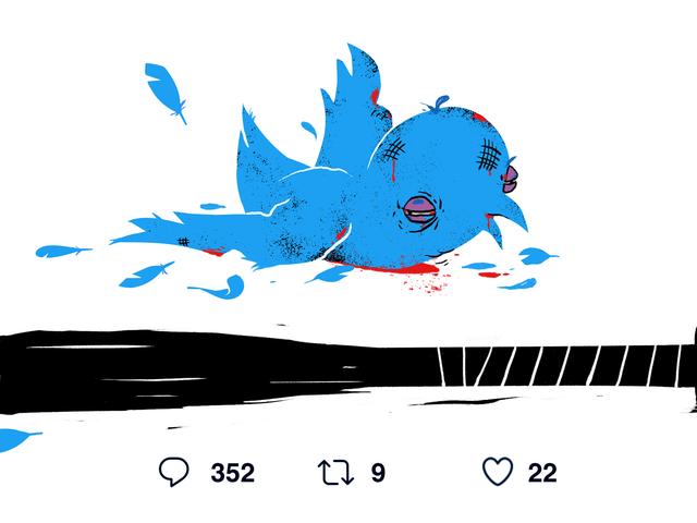 Forholdet er den tredobbelte krone af dårlige tweets