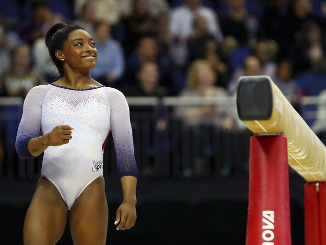 Simone Biles Reminds Us How Deep Every Gymnast's Bag Of Tricks Really Is