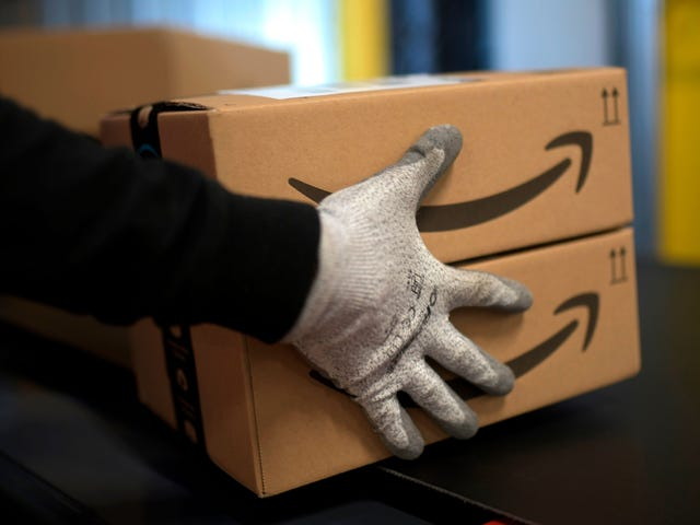 Amazon เป็นข้อความช็อปปิ้ง