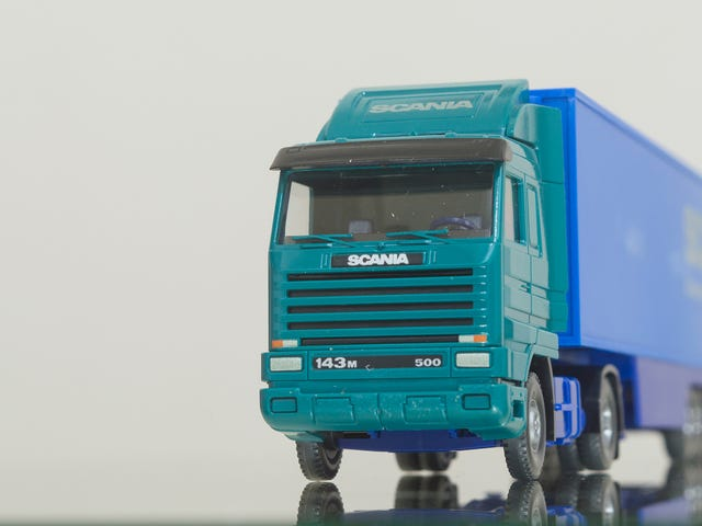 Scania Saturday - Wiking Scania 143