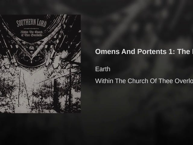 Earth - Omens And Portents 1: The Driver