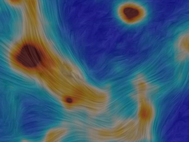 Otroligt detaljerad bild av vår galaxs centrum visar hur saker rör sig runt ett svart hål