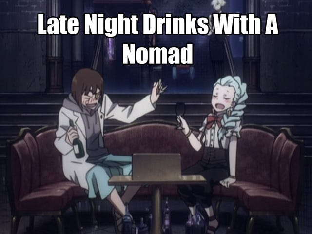 Late Night Drinks with a Nomad: Death Parade Episode 1