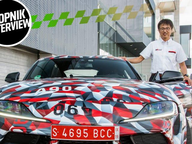 Toyota'nın Performans Patronu 1997'de Yeni Bir Supra Yapacaktı. İptal Edildikten Yıllar Sonra Nihayet Şansını Yakaladı