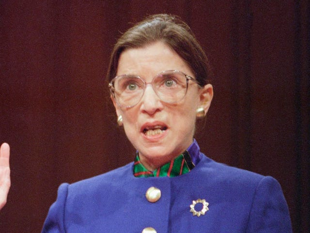 Saturday Night Social: The Ruth Bader Ginsburg Documentary Is Finally Out, for Your Sore Eyes