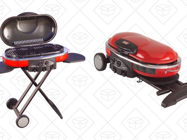 Grab This Coleman Portable Grill So You Can Take the Party With You