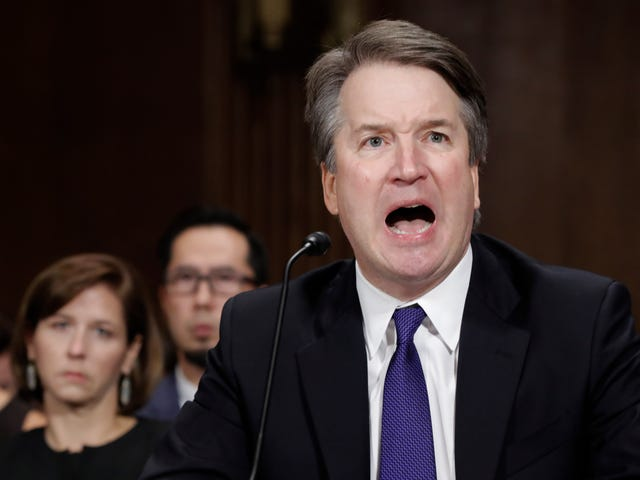 Rate These Kavanaugh Faces: From Boofed to Let Me Speak to Your Manager
