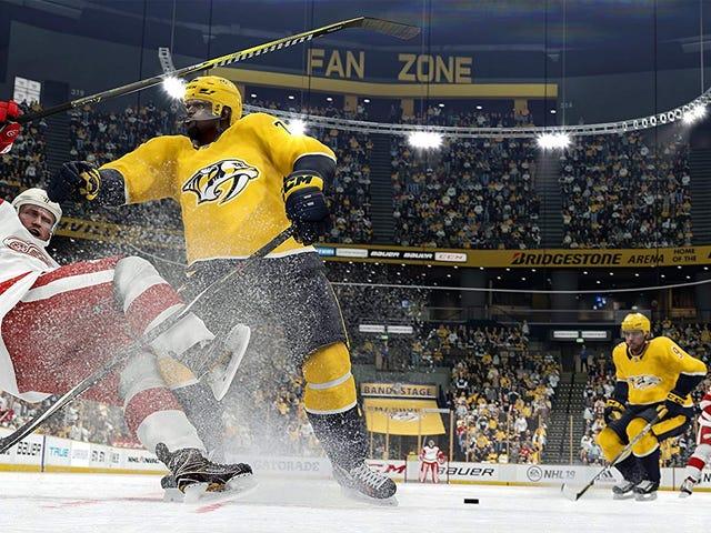 El juego NHL19 ya está rebajado $20