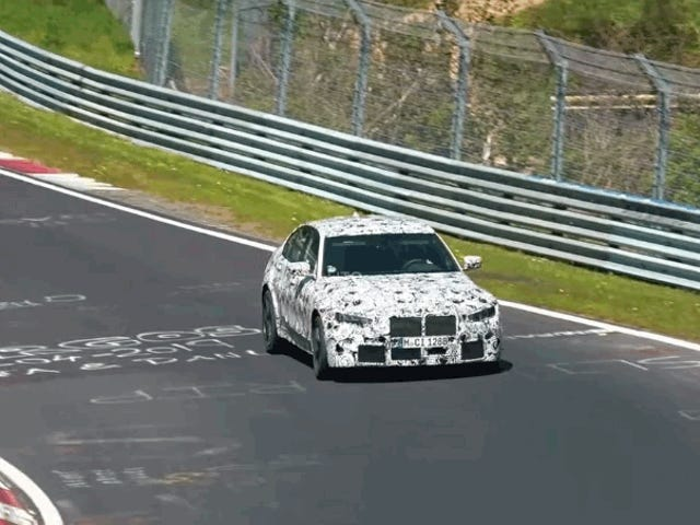 Aquí está el 2020 BMW M3 Bombing alrededor de Nürburgring