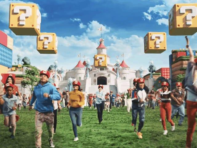 Nintendos temaparktrailer er en tur