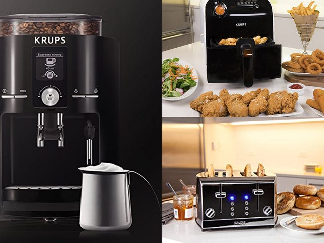 Class Up Your Kitchen With a Bunch of KRUPS Discounts