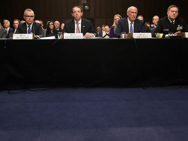'What You Feel Isn't Relevant': Senate Intelligence Committee Hearing Gets Heated as4 Intel Chiefs Won't Answer Anything